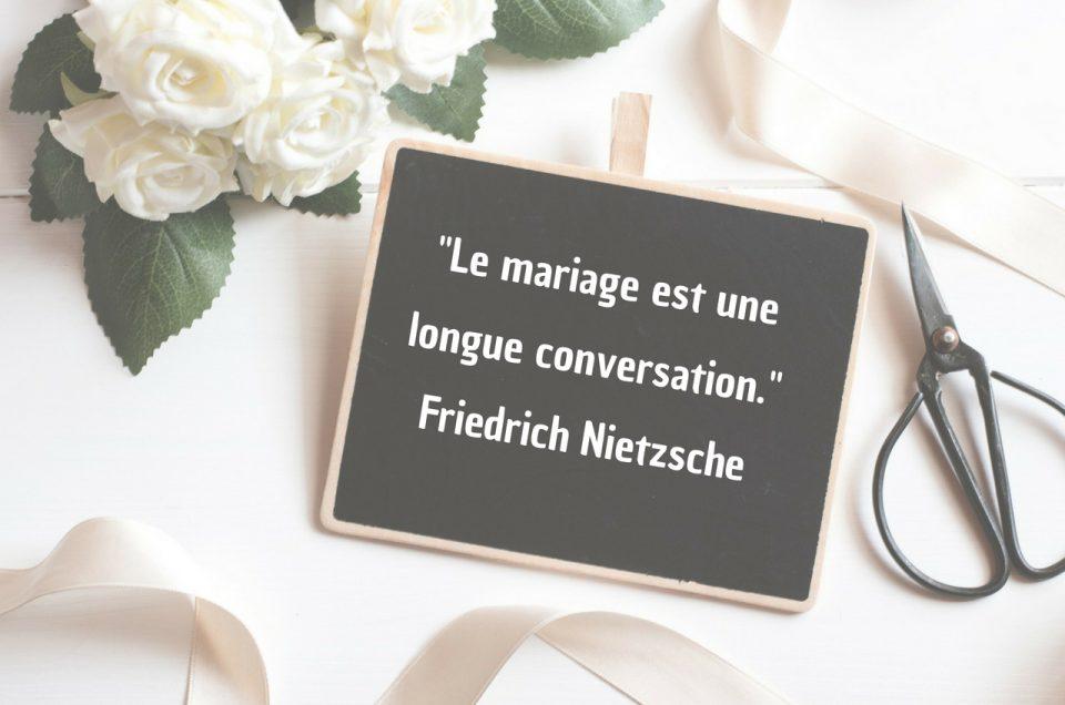 40 citations romantiques pour votre mariage