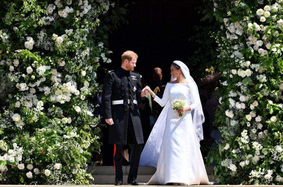 7 idées à piquer du mariage princier de Meghan et Harry