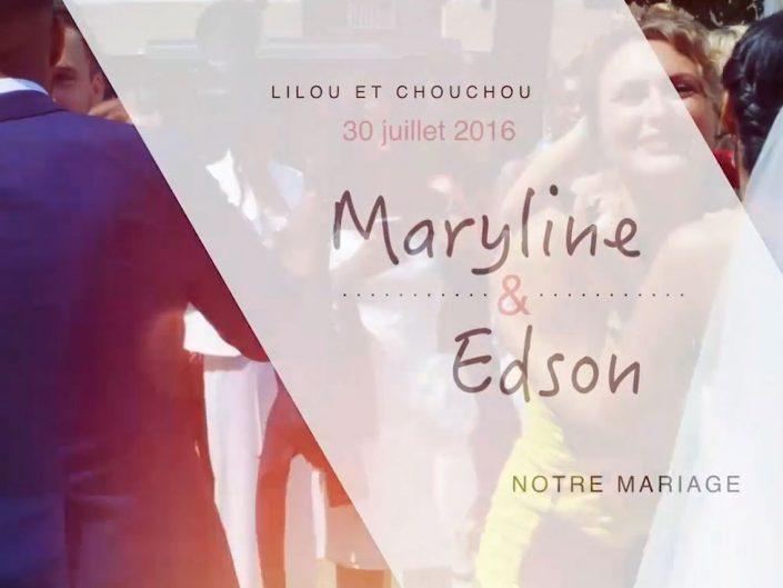 Mariage Maryline et Edson